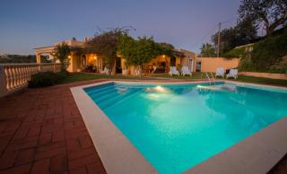 Sundown at luz do sol accessible pool, accessible garden, accessible villa