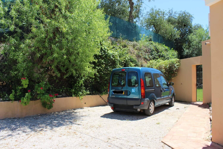 Accessible WAV, kept at Luz do sol accessible villa for wheelchair users