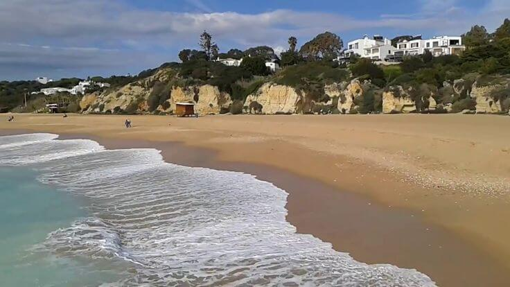 algarve beach winter