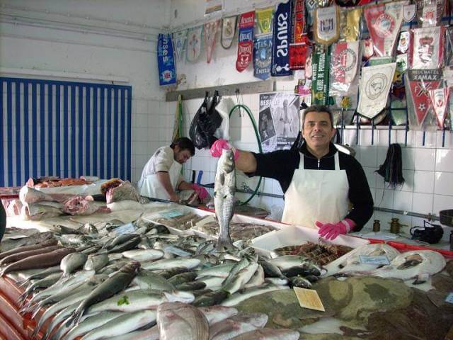 fish market quarteira