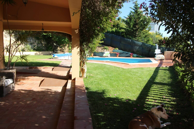 wheelchair friendly villa, algarve, villa for the disabled, pool hoist, accessible garden