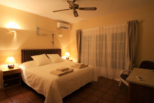Adapted accessible bedroom, accessible wheelchair friendly holiday villa,
