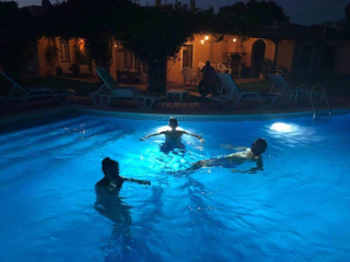 accessible pool, pool for the disabled, accessible holiday accommodation, algarve portugal