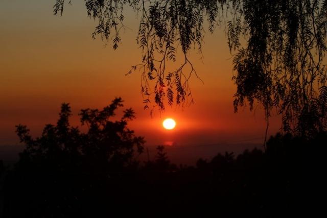 sunset January 2020
